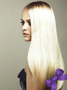 Наращивание волос в салоне красоты